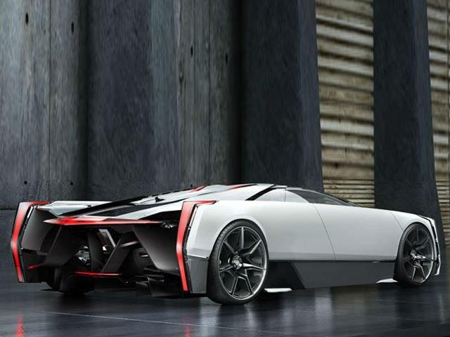 2018 Cadillac Supercar Concept