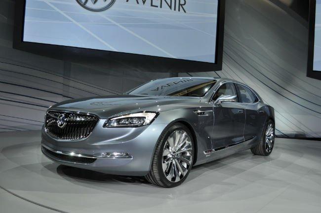 Buick Avenir Concept Car