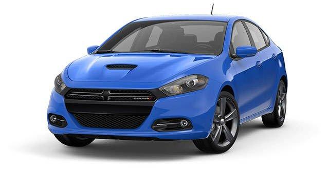 Dodge Dart 2016 Blue