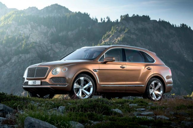 2018 Bentley Bentayga Model