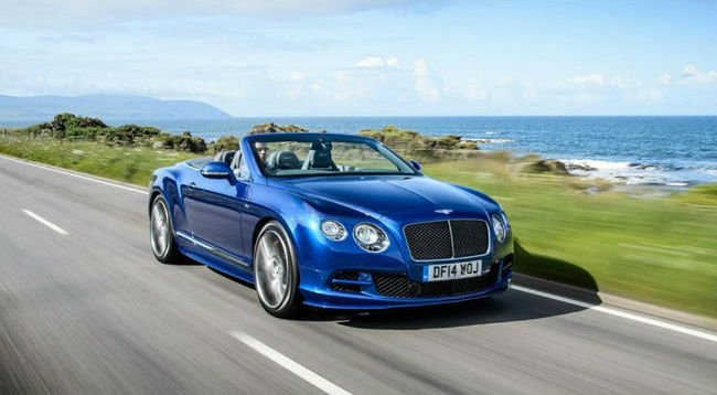 2018 Bentley Continental GT Speed Convertible