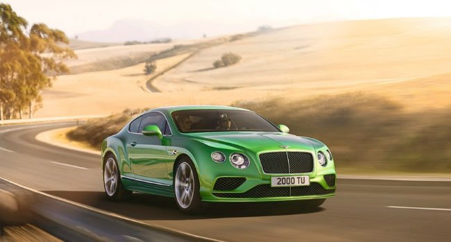 2018 Bentley Continental GT Speed Model