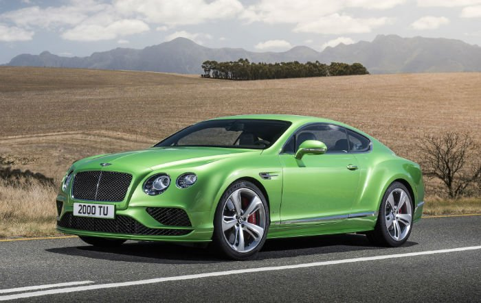 2018 Bentley GTC Speed