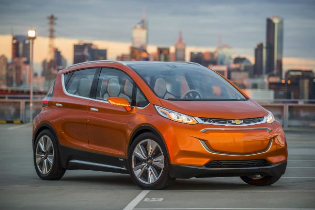 2018 Chevrolet Bolt Electric Car
