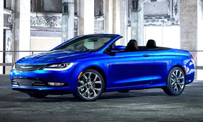 2018 Chrysler 200 Convertible