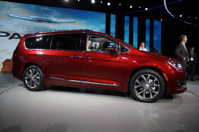 2018 Chrysler Pacifica Model