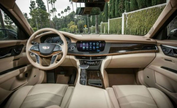 2018 Cadillac CT8 Interior