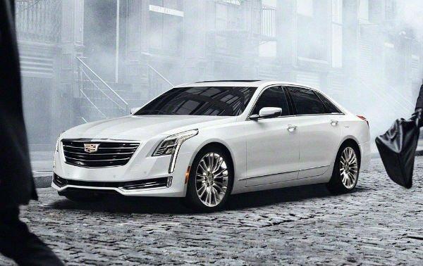 2018 Cadillac CT8 Model