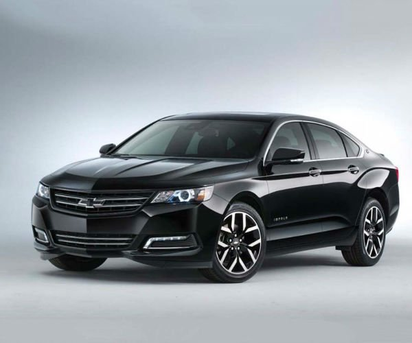 2018 Chevy Impala Black