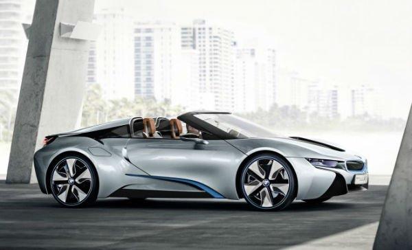 2018 BMW i8 Spyder