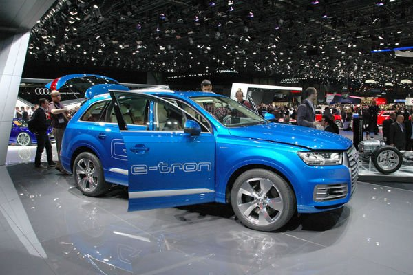 2018 Audi Q7 E-Tron