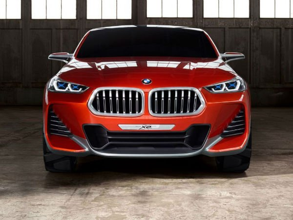 2018 BMW X2 Concept Facelift
