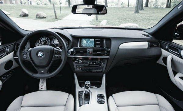 2018 BMW X3 Interior