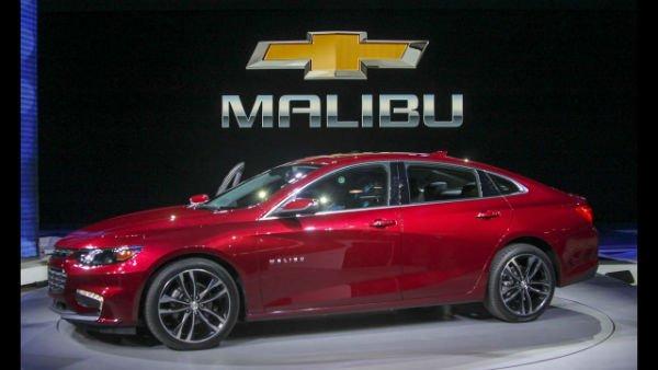 2018 Chevrolet Malibu Model