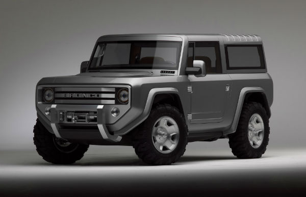 2018 Ford Bronco Pictures