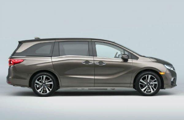 2018 Honda Odyssey Release