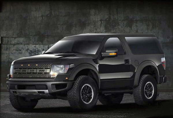 Ford Bronco 2018 Black