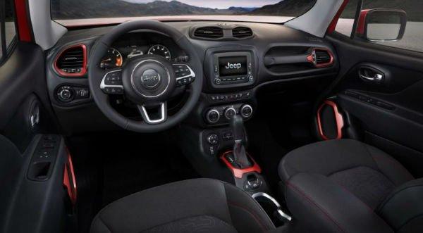 Jeep Renegade 2018 Interior