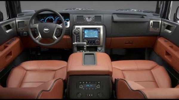 2018 Hummer H2 Interior