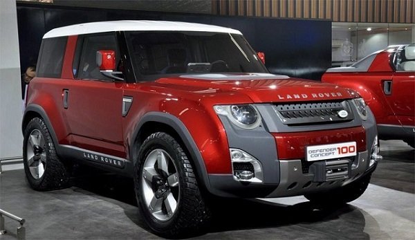2018 Land Rover Defender Usa