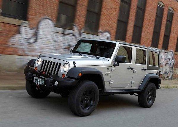 Jeep Wrangler 2018 Redesign