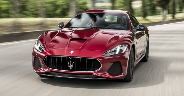 2018 Maserati Granturismo MC Stradale