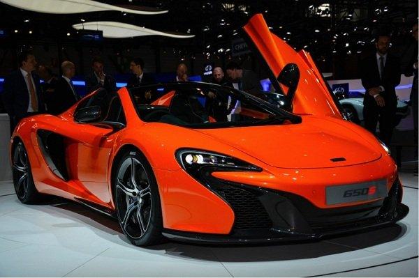 2018 McLaren 650s