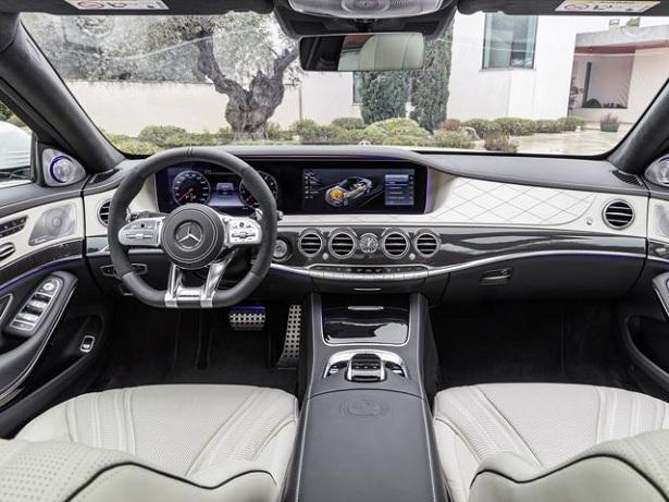 2018 Mercedes-Benz S Class Interior