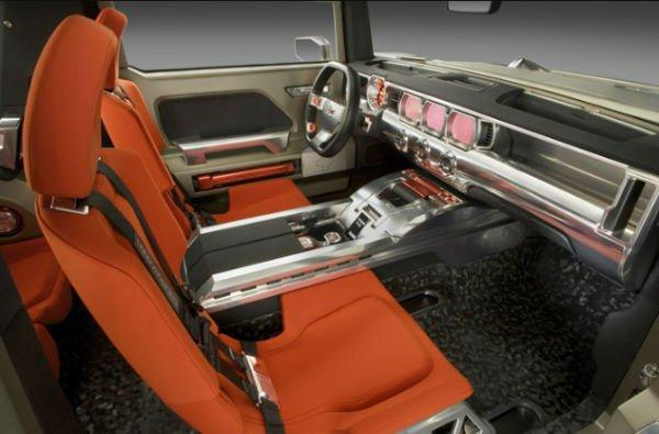 2018 Hummer HX Interior