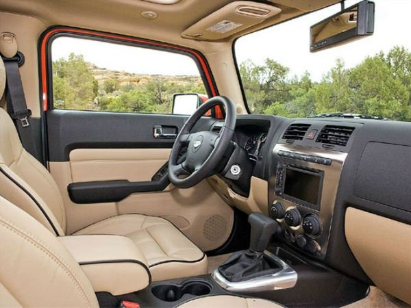 Hummer H3 2018 Interior