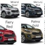 2018 Kia Sportage Colors