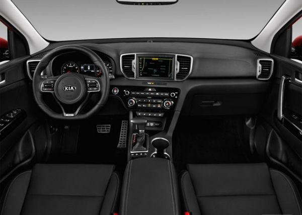 2018 Kia Sportage Interior