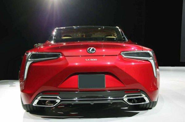 2018 Lexus LC 500 Horsepower