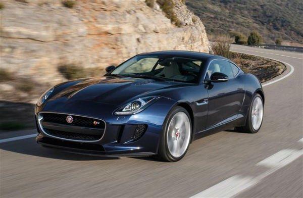 Jaguar F-Type 2018 Dark Blue