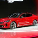 Kia Stinger 2018 Red