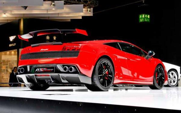 Lamborghini Gallardo 2018 model