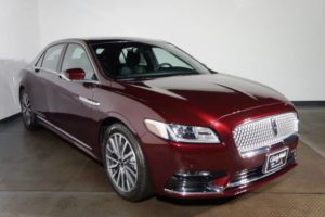 The 2018 Lincoln Continental
