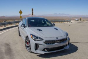 kia Stinger 2018 Grey