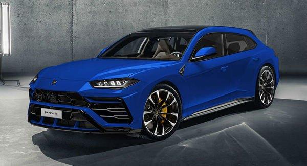 2018 Lamborghini Urus Blue