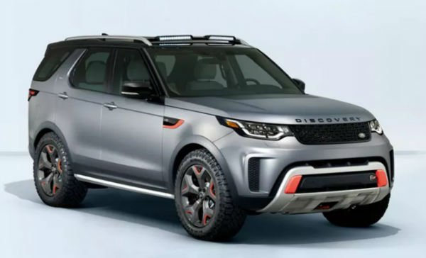2018 Land Rover Discovery SVX