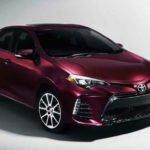 2018 Toyota Corolla MSRP