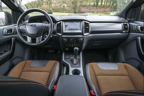 2020 Ford Ranger Interior