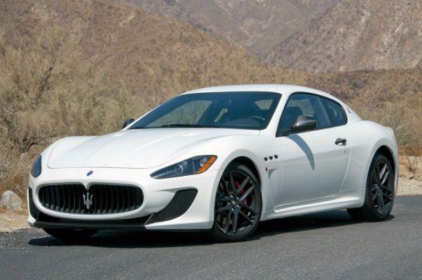 Maserati GT 2018 White