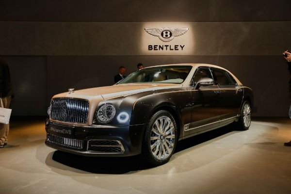 2020 Bentley Mulsanne Exterior