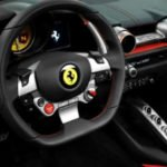 Ferrari SUV interior