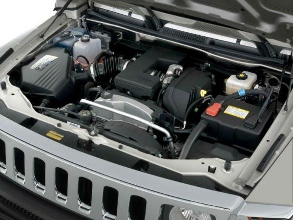 2020 Hummer H3 Engine