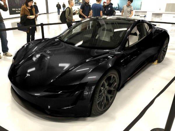 2020 Tesla Roadster Black