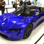 2020 Tesla Roadster Blue