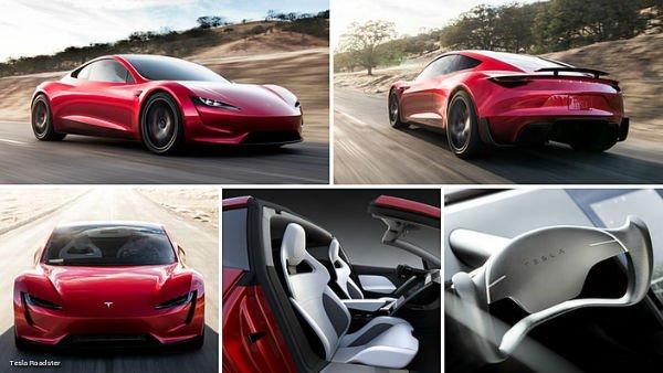 2020 Tesla Roadster Inside