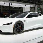 2020 Tesla Roadster White